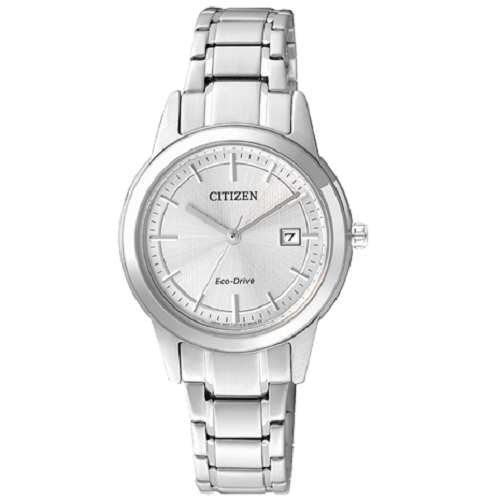 Citizen AW Eco-Drive Silver Metal Watch