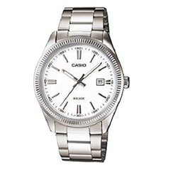 Casio Classic-Men's  Analogue Quartz White Dial Watch