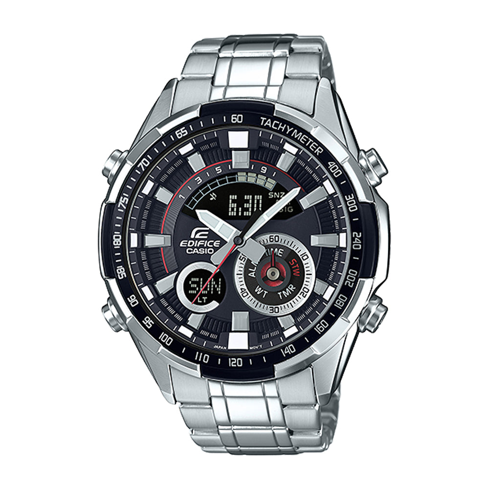 Casio Edifice Chronograph Analog Digital ERA-600D-1AV Men's Watch