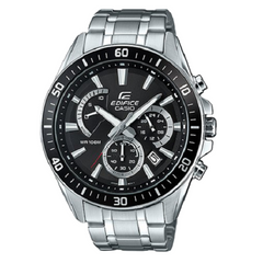 Casio Mens Edifice Premium Silver Chronograph Watch