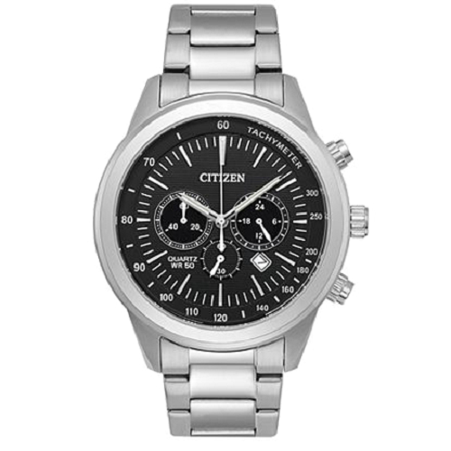 Citizen Analog Black Dial Men's Watch
