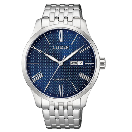 Citizen Analog Casual Watch Mechanical Silver For Men