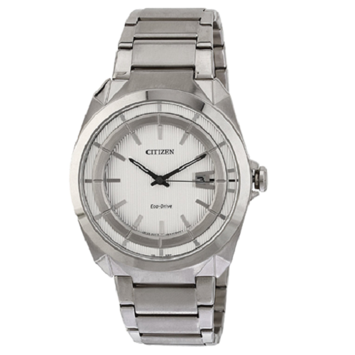 Citizen Eco Drive Analog White Dial Men's Watch