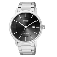 Citizen Eco Drive Silver Stainless-Steel Watch