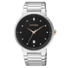 Citizen Men's Quartz Stainless Steel Wrist Watch