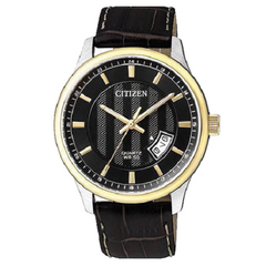 Citizen Watch For Men With Leather Band Eco-Drive Watch