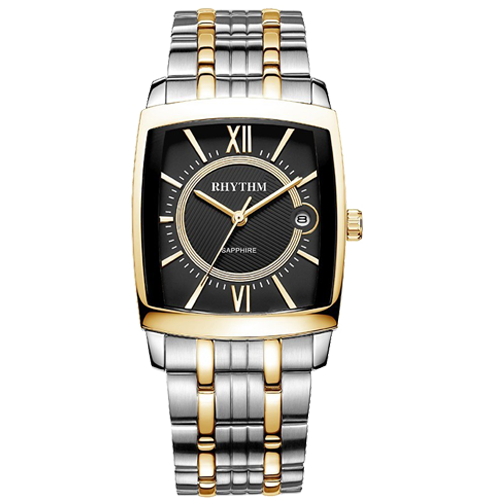 Double Rhythm Clock Watch