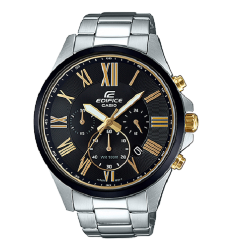 Casio Edifice Analog Brown Dial Men's Chronograph Watch