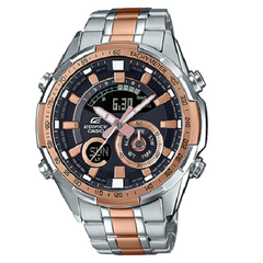 Casio Edifice Black Dial Man Analog Digital Watch