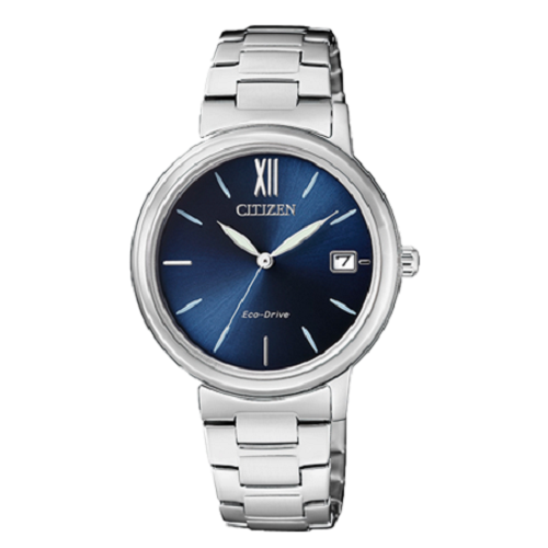 Citizen Metal Analog Eco-Drive Ladies Blue Dial Watch
