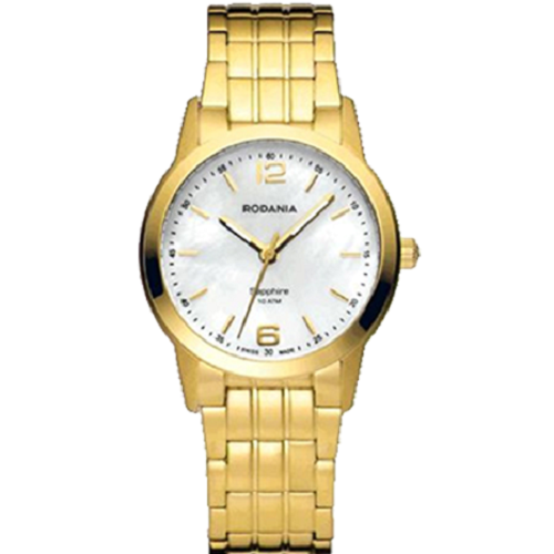 Rodania Female Gold Stainless Steel Vancouver Watch