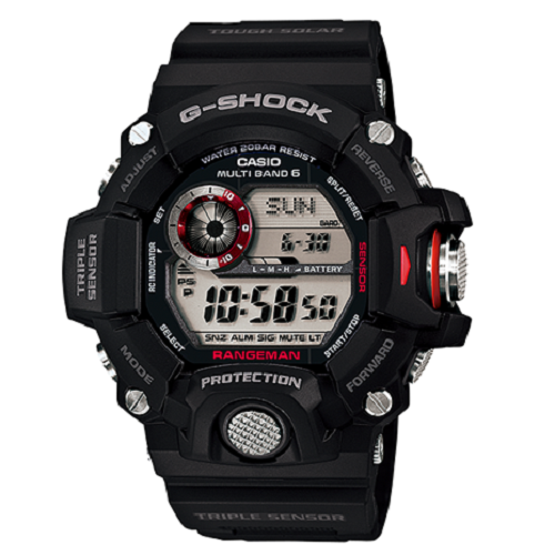 Casio G-Shock Military Black Triple Sensor Atomic Digital Watch