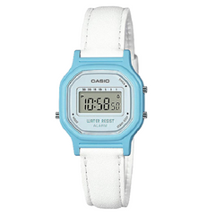 Casio Kids Ladies Digital Small Cute Leather Band Watch