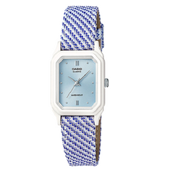 Casio Casual Kids Ladies Standard Blue Leather Strap Analog Watch
