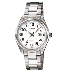 Casio Analog Stylish General Ladies Standard White Dial Watch