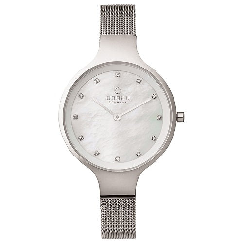 Obaku Woman's Luxury Flat Permute Quartz Watch