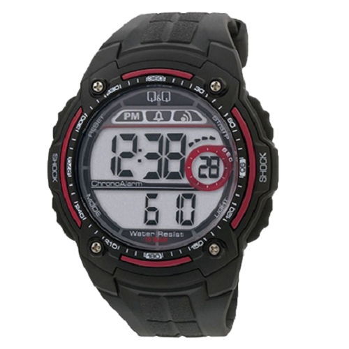 Q & Q Sports Digital Male Multi Color Wrist Watch