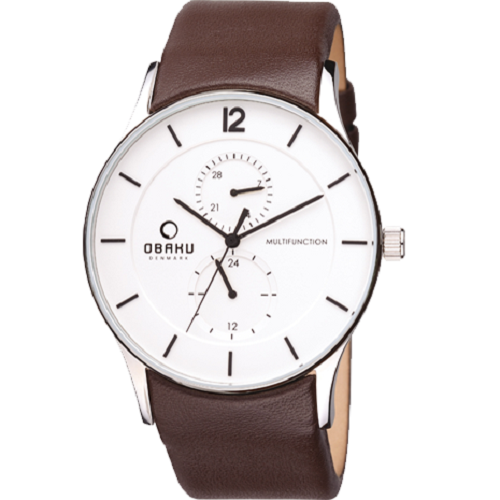 Obaku Men's Hardened Mineral Latest Brand Watch