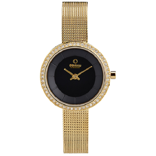 Obaku Denmark SS L P Gold Adjustable Ladies Watch