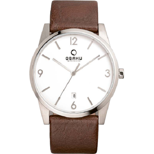 Obaku Harmony Men's Stainless-Steel Date Quartz Watch