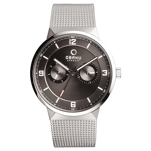 Obaku Men's Stainless-Steel Date Quartz Watch