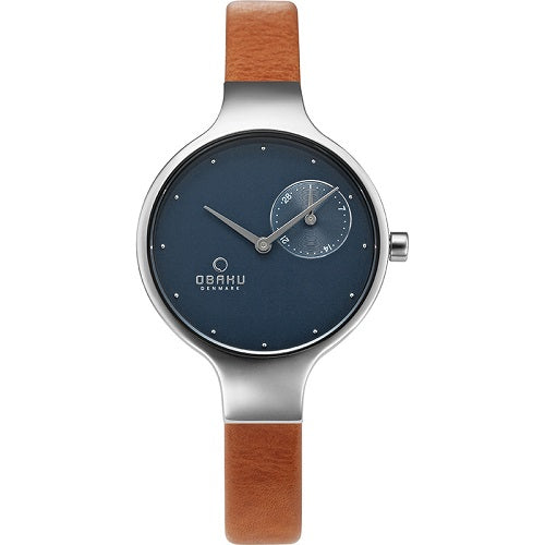 Obaku Women's Stainless Steel Watch Eng Syrup