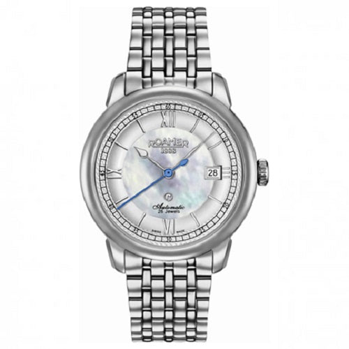 Roamer R-Matic Stainless Steel Silver Dial Men's Watch
