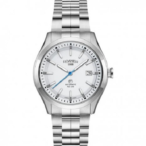 Roamer Swiss Made Automatic White Dial Gents Watch