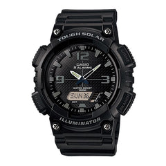 Casio Silicon Digital & Analog Dial Watch