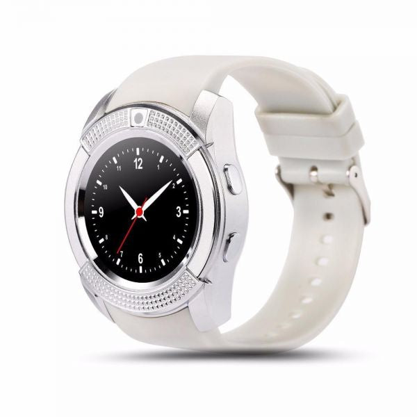 SMART WATCH V8 - WHITE