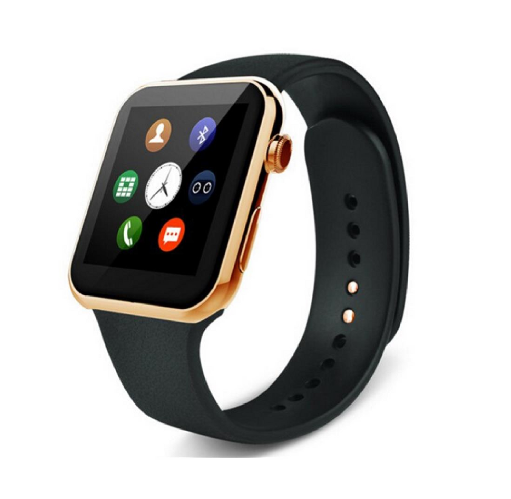 SMART WATCH Gold W08 WITH GSM SLOT