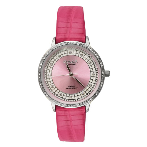 Omax Fashion Watch for Ladies Sparkle