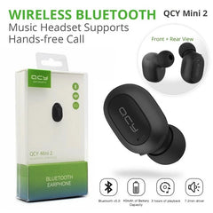 BUNDLE DEAL (Pack of 2) Y1s Smart Watch+QCY Mini 2 Bluetooth Handsfree