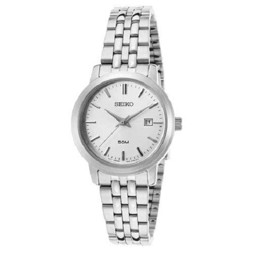 Seiko Ladie's Classic Design Everyday Silver Dial Analog Watch