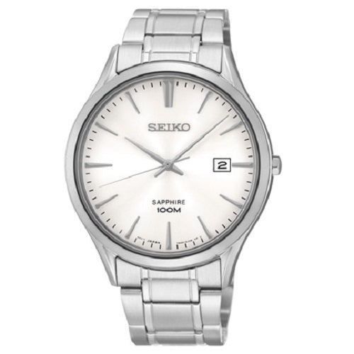 Seiko Classic Modern Men's Sapphire Crystal Dress Watch