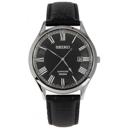 Seiko Neo Classic Dress Men's Buckle Clasp Watch