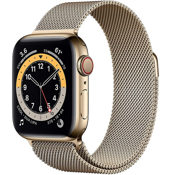 Apple Series 6 Stainless Steel Milanese Loop 40mm and 44mm Smart Watch