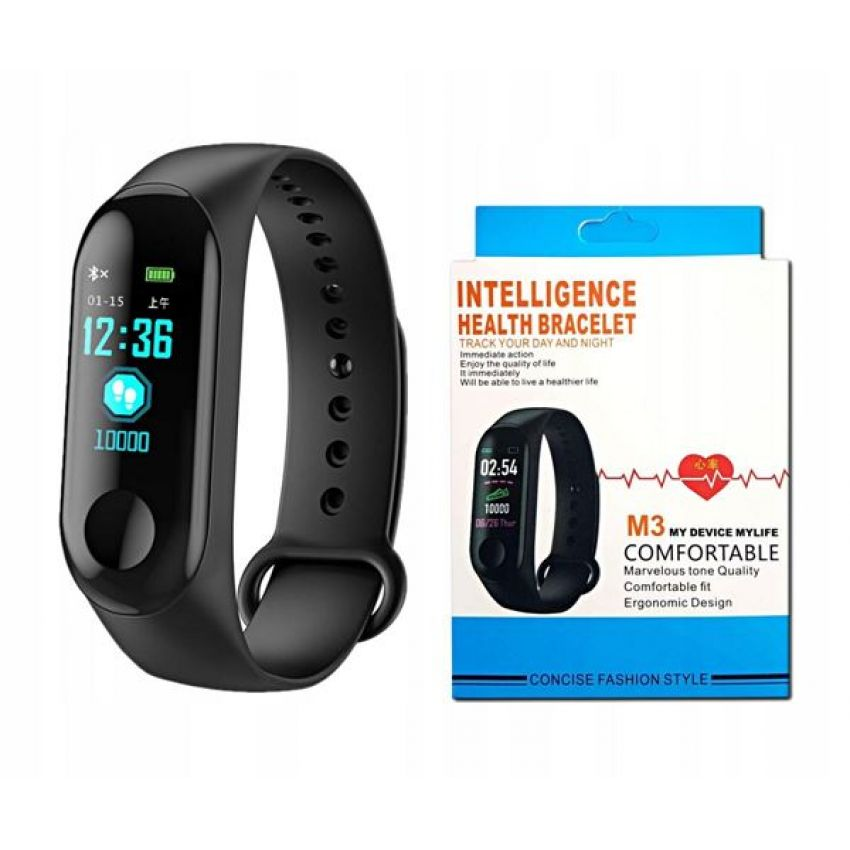 Bundle Offer M3 Smart Band & Stereo Hand Free Apple