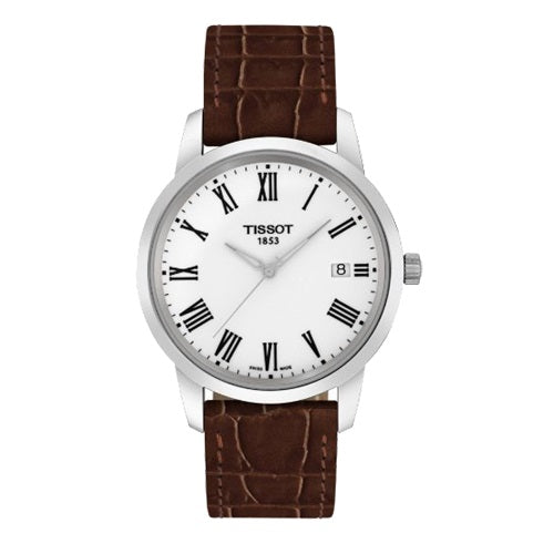 Tissot Classic Dream White Dial Men's Watch