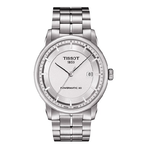 Tissot Men's Luxury Automatic Silver Stainless Steel Watch