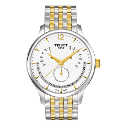 Tissot Men's Tradition Silver Swiss Quartz Watch