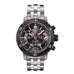 Tissot Men's T-Sport Textured Dial Stainless Steel Watch