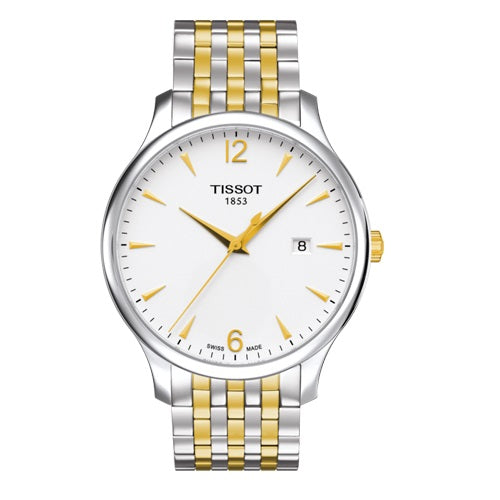 Tissot Men's TRADITION Two-Tone Swiss Made Watch