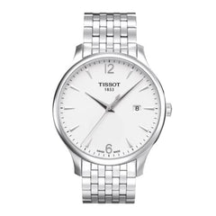 Tissot Men's Tradition Silver Stainless Steel Watch
