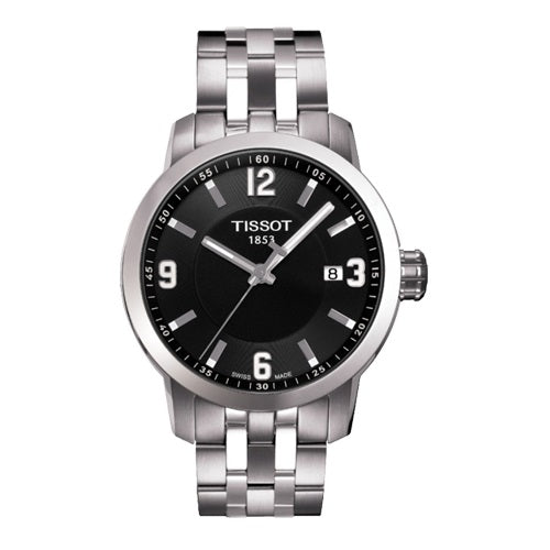 Tissot PRC 200 Quartz Watch Black For Men