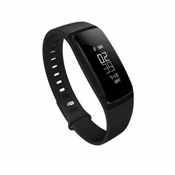 V07s Sport BP / HR Smart Fitness Band Tracker Black