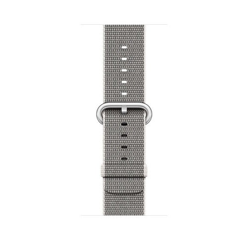 Apple iWatch Series 2 38mm Silver Aluminum Case with Pearl Band