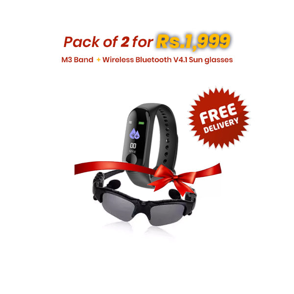 M3 Band + Wireless Bluetooth V4.1 Sun Glasses