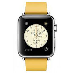 Apple Watch Series 1 38mm Stainless Steel Case with Marigold Modern Buckle