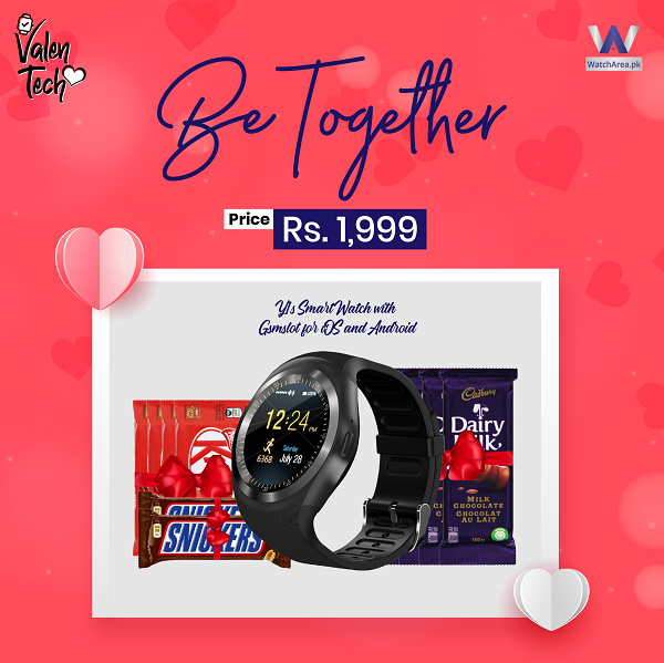 Y1s Smart Watch & Chocolate Be Together on Valentine